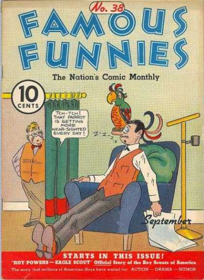 Famous Funnies 38