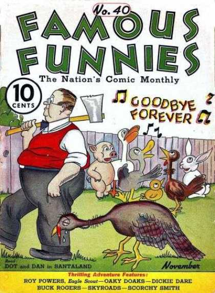 Famous Funnies 40