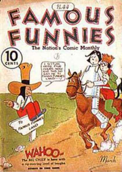 Famous Funnies 44