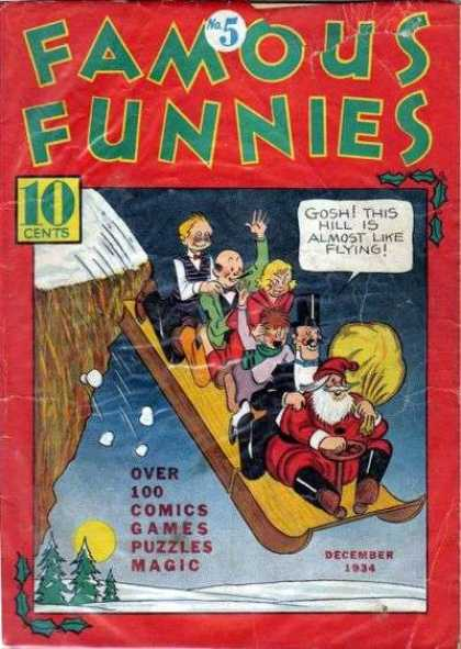 Famous Funnies 5