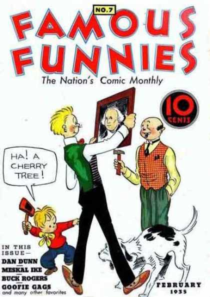 Famous Funnies 7