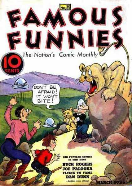 Famous Funnies 8