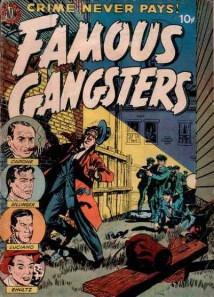 Famous Gangsters 1 - Crime Never Pays - Capone - Dillinger - Alley - Police
