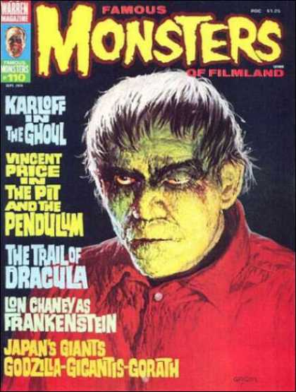 Famous Monsters of Filmland 100