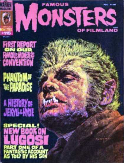 Famous Monsters of Filmland 105