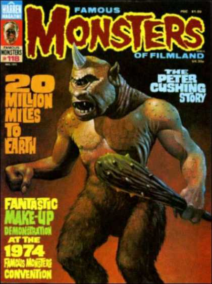 Famous Monsters of Filmland 108