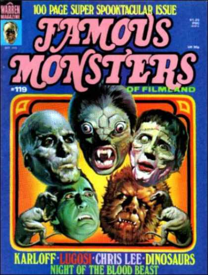 Famous Monsters of Filmland 109