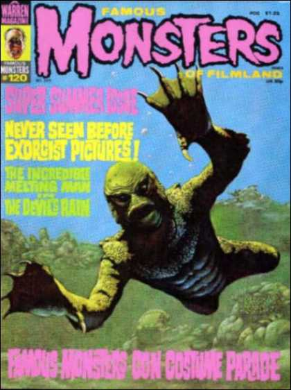 Famous Monsters of Filmland 110