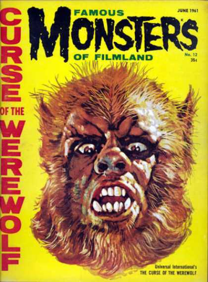 Famous Monsters of Filmland 12