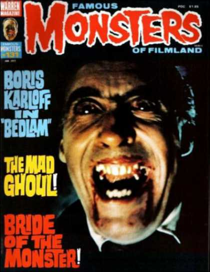 Famous Monsters of Filmland 121