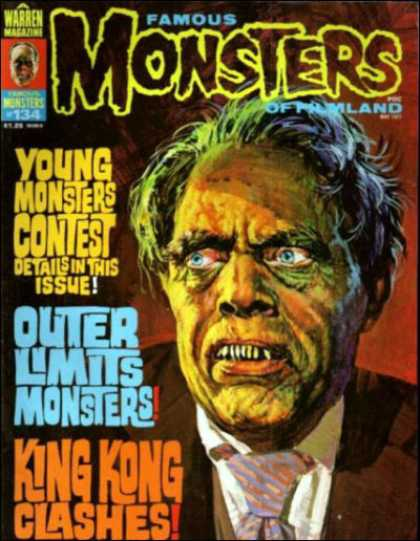 Famous Monsters of Filmland 124