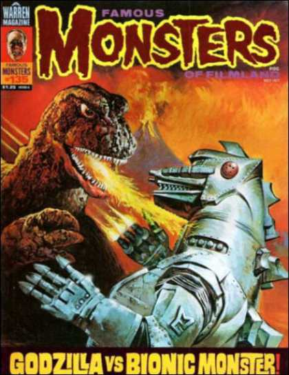 Famous Monsters of Filmland 125