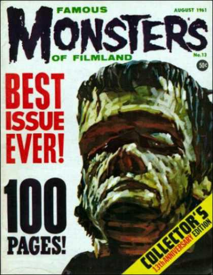 Famous Monsters of Filmland 13