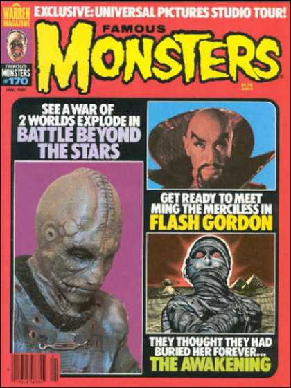Famous Monsters of Filmland 160