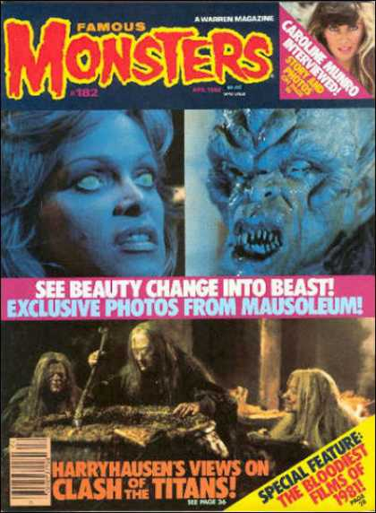 Famous Monsters of Filmland 172