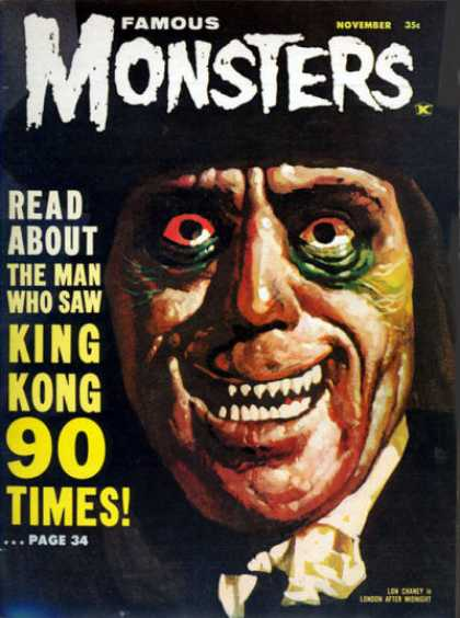 Famous Monsters of Filmland 20