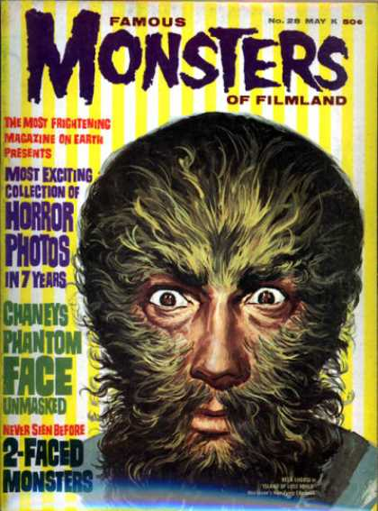 Famous Monsters of Filmland 28