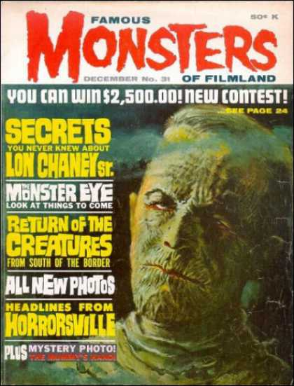Famous Monsters of Filmland 31
