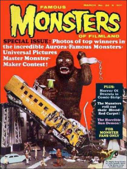 Famous Monsters of Filmland 32