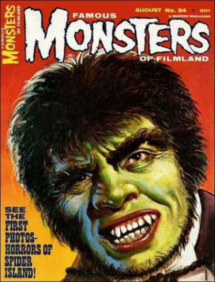 Famous Monsters of Filmland 34