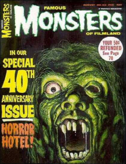 Famous Monsters of Filmland 40