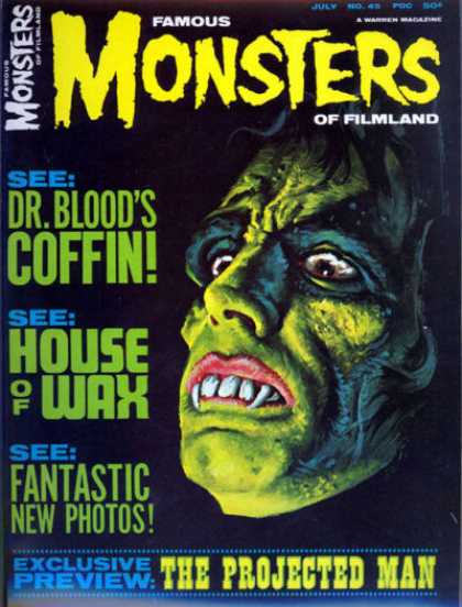 Famous Monsters of Filmland 45
