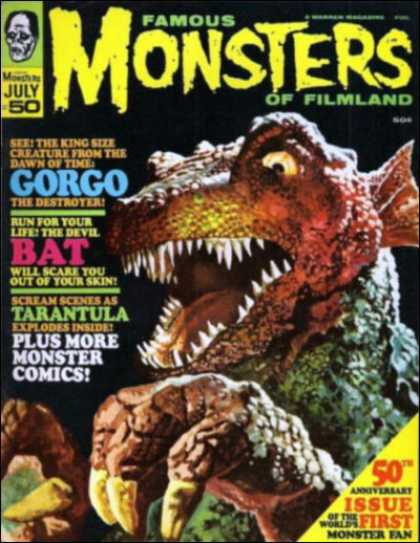 Famous Monsters of Filmland 50