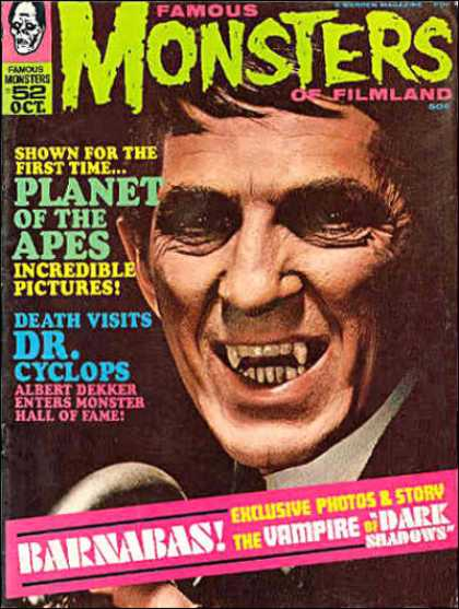 Famous Monsters of Filmland 52