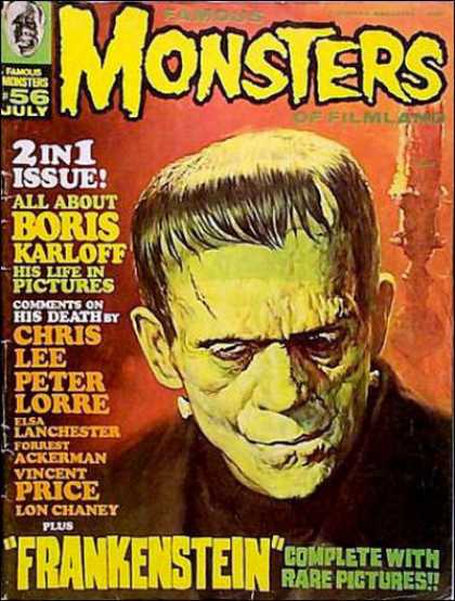 Famous Monsters of Filmland 56