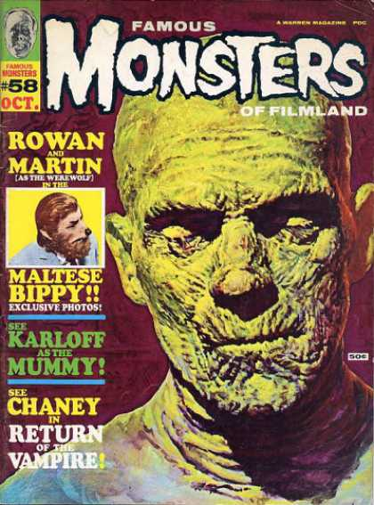 Famous Monsters of Filmland 58