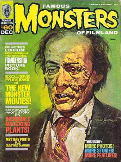 Famous Monsters of Filmland 60