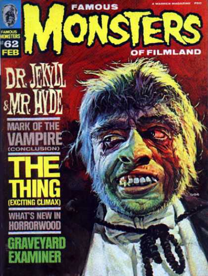 Famous Monsters of Filmland 62