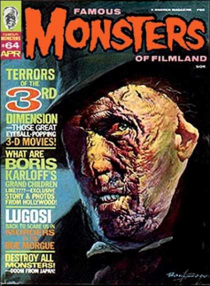 Famous Monsters of Filmland 64