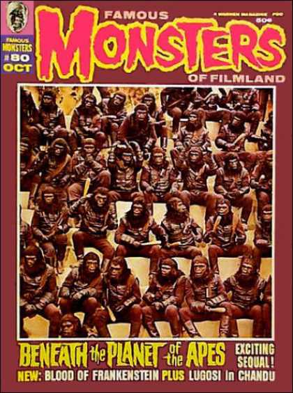 Famous Monsters of Filmland 70