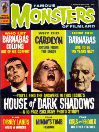 Famous Monsters of Filmland 72