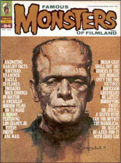 Famous Monsters of Filmland 84