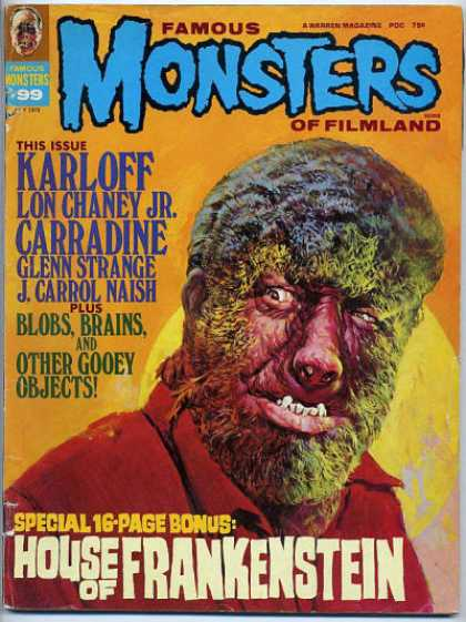 Famous Monsters of Filmland 89