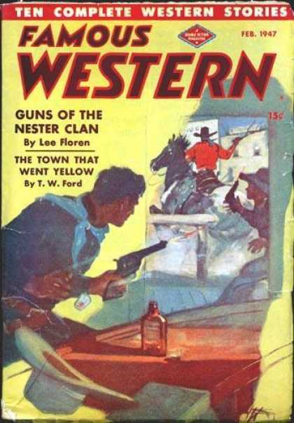 Famous Western - 2/1947