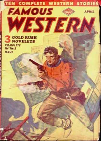 Famous Western - 4/1948