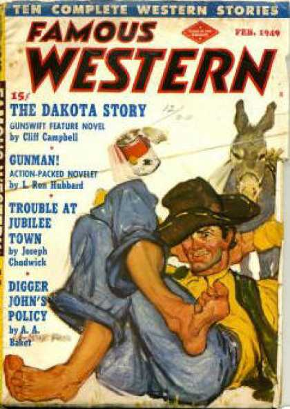 Famous Western - 2/1949