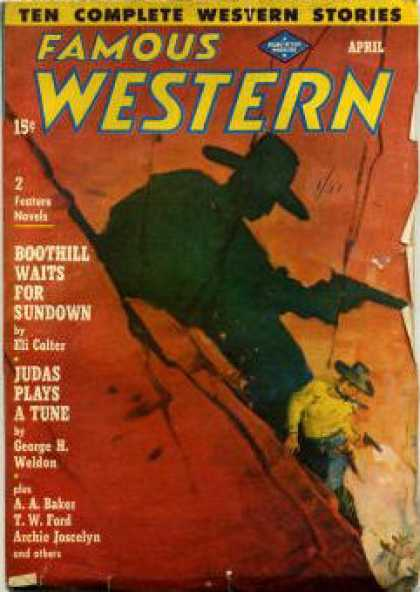 Famous Western - 4/1949