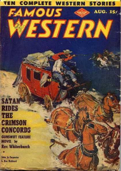 Famous Western - 8/1949
