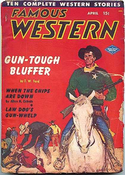 Famous Western - 4/1950
