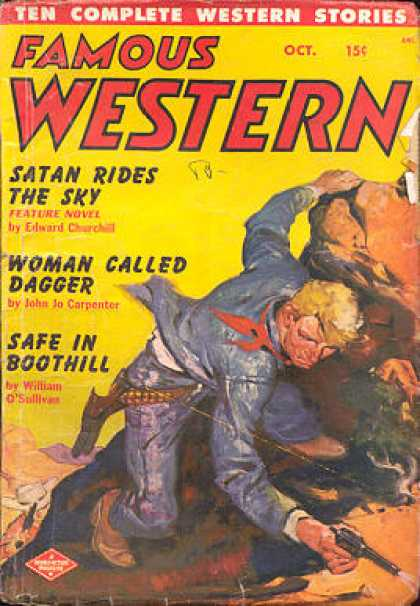 Famous Western - 10/1950