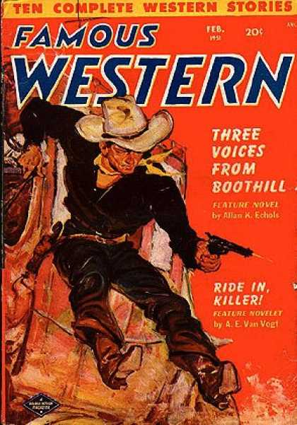 Famous Western - 2/1951