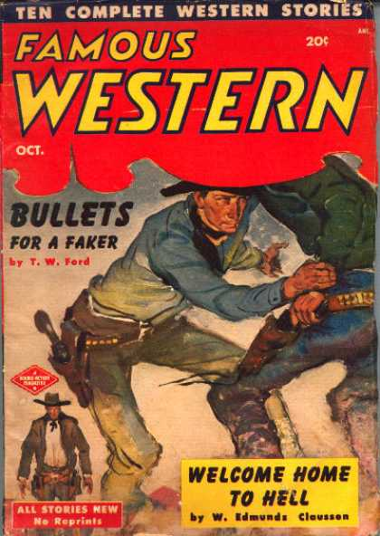 Famous Western - 10/1951