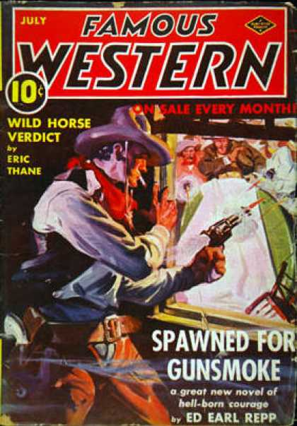 Famous Western - 7/1939