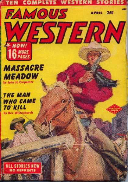 Famous Western - 4/1952