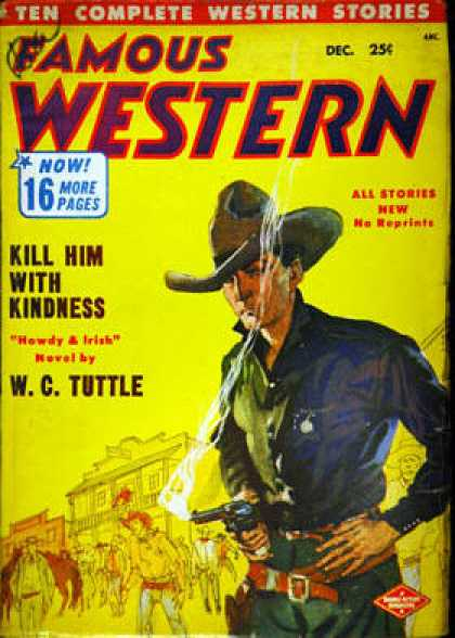 Famous Western - 12/1952