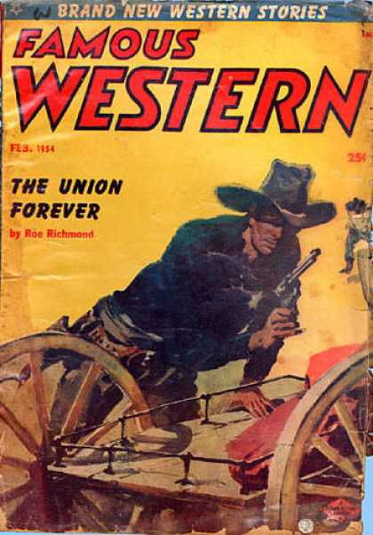 Famous Western - 2/1954